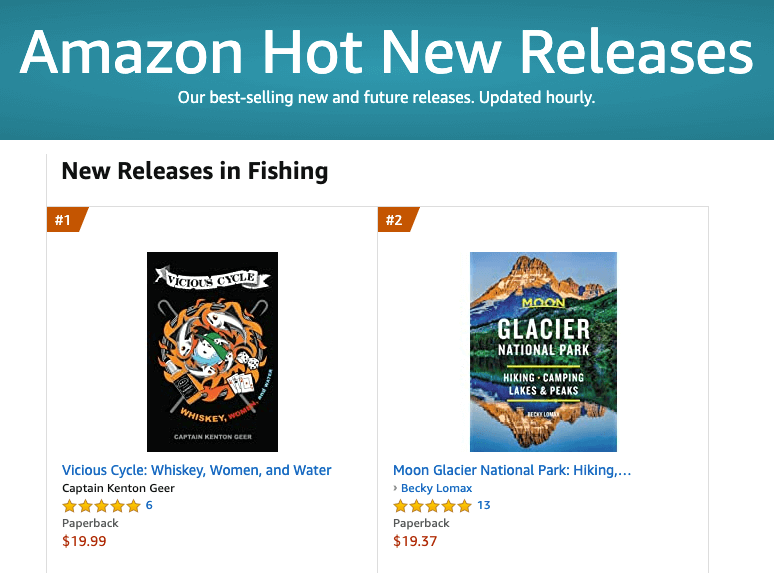 #1 Bestselling New Release in Fishing on Amazon